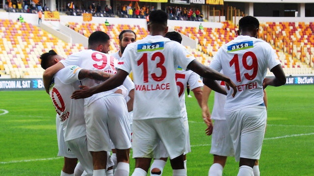Yeni Malatyaspor, 8 puanla 8. sırada yer alıyor.