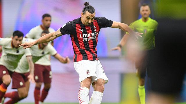 Milan-Roma maçı nefes kesti: 6 gol atıldı, kazanan çıkmadı