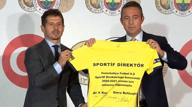 Emre Belözoğlu Fenerbahçe'nin yeni sportif direktörü oldu