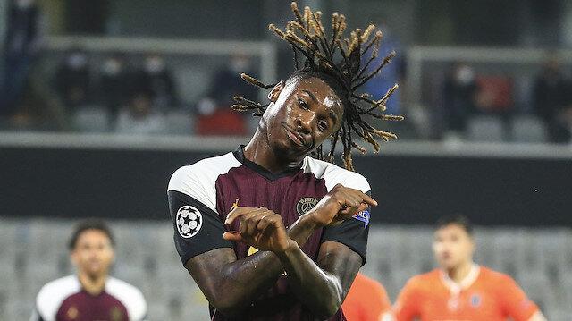 Başakşehir PSG'ye kafa tuttu ama Moise Kean'i durduramadı