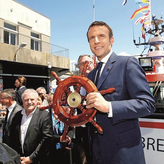 Macron'un diplomatik taciz hücresi
