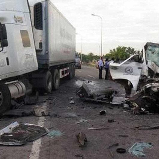 مصرع 21 شخصًا جرّاء حادث سير جنوب شرقي نيجيريا
