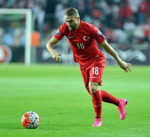 A Milli Takım formasıyla 53 maça çıkan Caner Erkin'in 2 golü bulunuyor.