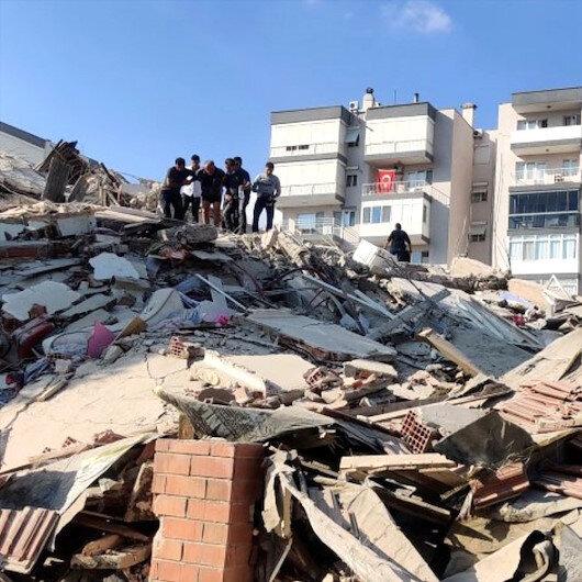 İzmir depreminde hayatını kaybedenlerin sayısı 37'ye çıktı