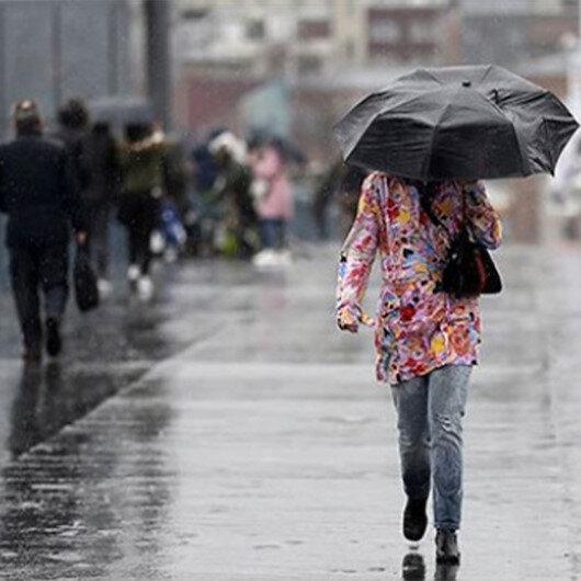 Meteoroloji'den dört bölge için sağanak yağış uyarısı!