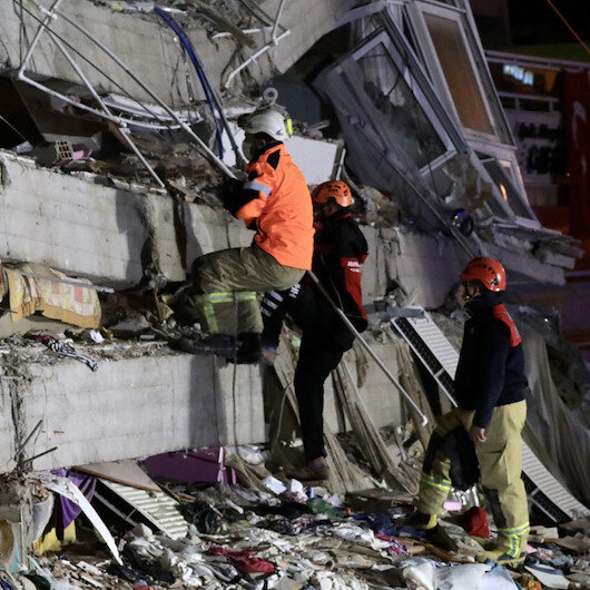 İzmir depreminde can kaybı 39'a yükseldi