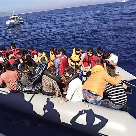 خفر السواحل التركي ينقذ 21 طالب لجوء جنوب غربي البلاد