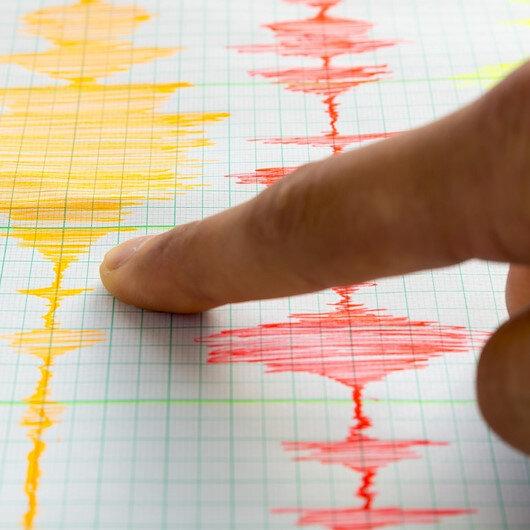 Kuşadası açıklarında 4.5 büyüklüğünde deprem