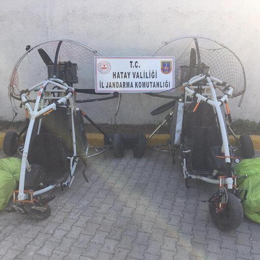 PKK'nın hain emelleri için kullandığı paramotor ve yamaç paraşütüne yasak getirildi
