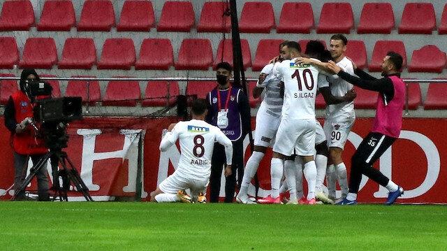 Hatayspor'a Kayseri deplasmanında tek gol yetti