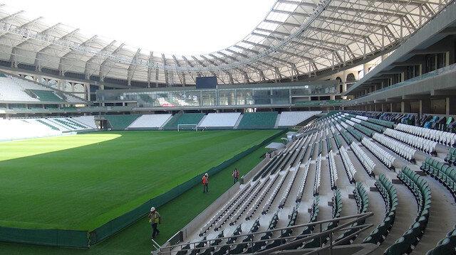 Çotanak Stadı ligin ikinci yarısında kapılarını açacak