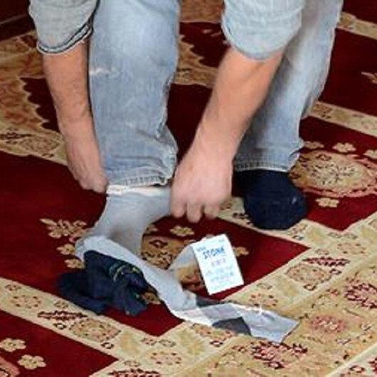 Çorap üzerine mesh etmek caiz midir?