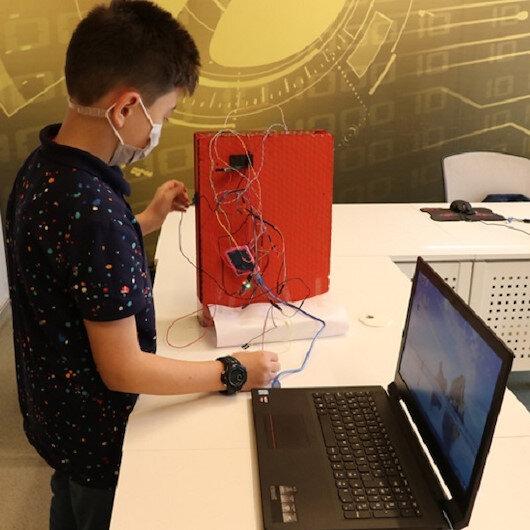 13 yaşındaki mucit sensör geliştirdi: Tehlikeye değil hayata kapı aç