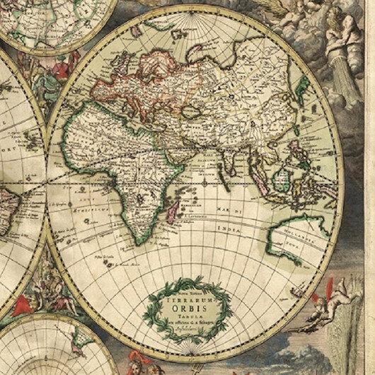 Harita üzerine derin sohbet