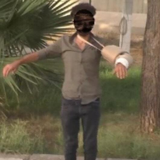Mardin'de gözaltına alınan şüphelinin kolunda alçı görünümünde kamufle edilmiş patlayıcı ele geçirildi