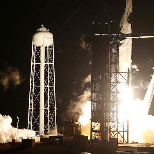 NASA, SpaceX launch 4 astronauts into space for ISS