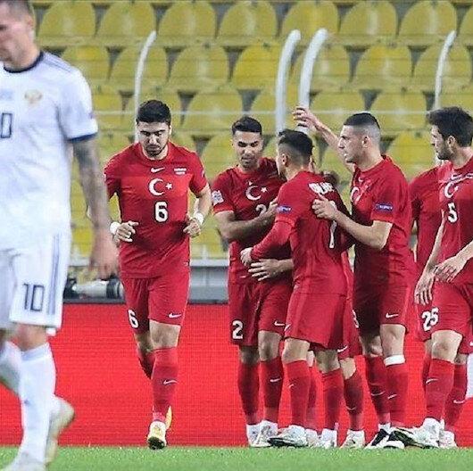 تركيا تهزم روسيا في دوري الأمم الأوروبية