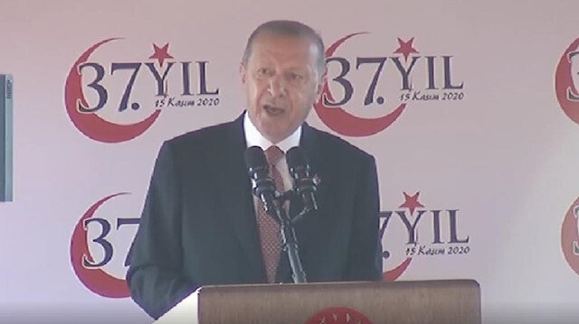Erdoğan says 2-state solution in Cyprus must be discussed