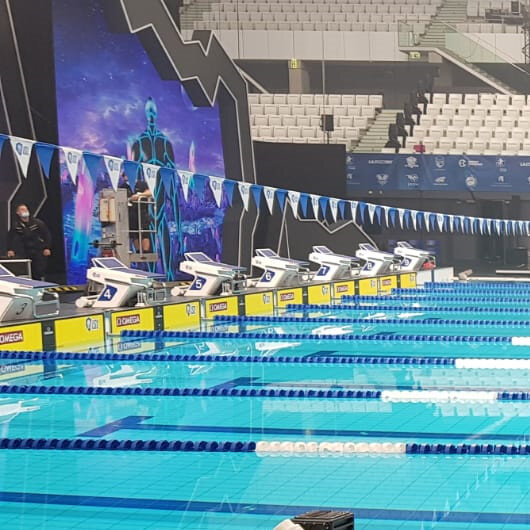 Turkey's Sakci wins another int'l swimming league race