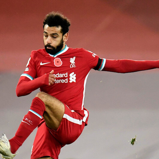 Liverpool's Salah tests positive for Covid-19 again
