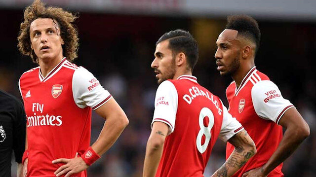 Luiz ile Ceballos'un kavgası İngiliz medyasında büyük yankı uyandırdı.