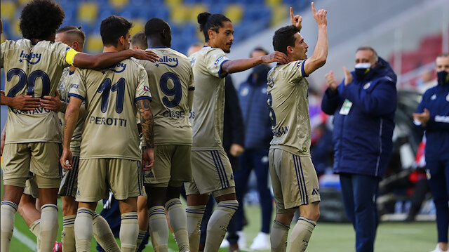 Fenerbahçe, Gençlerbirliği'ni farklı geçti