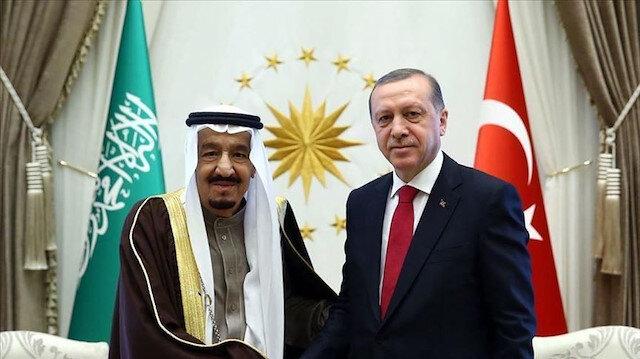أردوغان والملك سلمان يتفقان على إبقاء قنوات الحوار مفتوحة