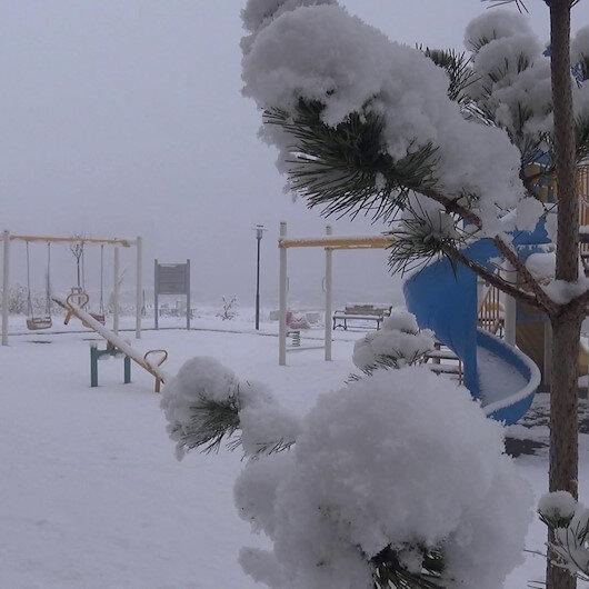 Doğu Anadolu Bölgesi'nde karla karışık yağmur bekleniyor