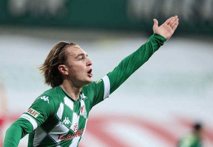Ali Akman bu sezon attığı gollerle adından söz ettirmeyi başardı.