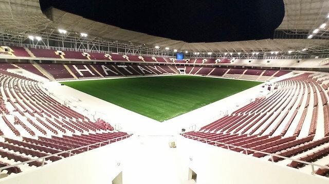 Süper Lig'in <br>yeni stadı açılıyor