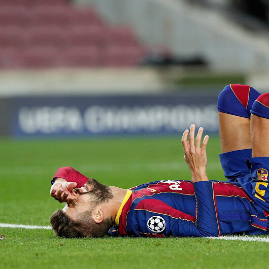 Barca pain deepens as Pique, Sergi Roberto set for long layoffs