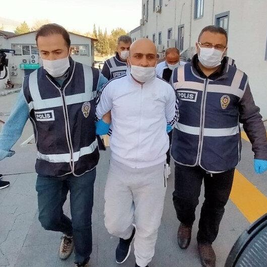 """Kahramanmaraş'ta 58 yıl kesinleşmiş cezası olan zanlı yakalanınca """"yeter çektiğiniz"""" dedi"""