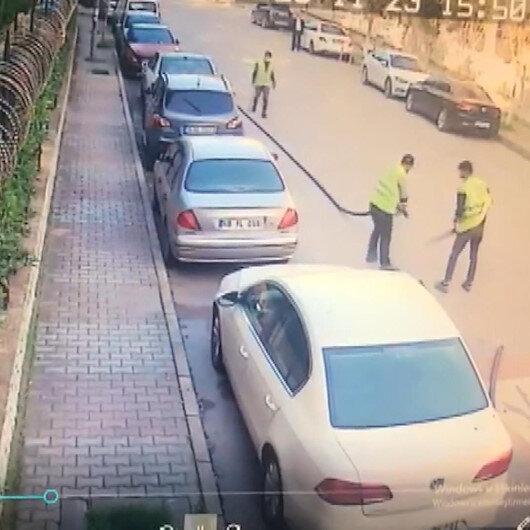 Hırsızlardan 'pes' dedirten yöntem: İşçi kılığına girip güpegündüz 2 bin 200 metre kabloyu çaldılar