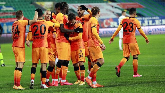 Galatasaray Rize deplasmanında farklı kazandı