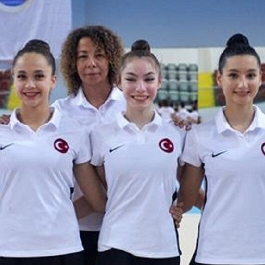 Turkish rhythmic gymnastics team win European title