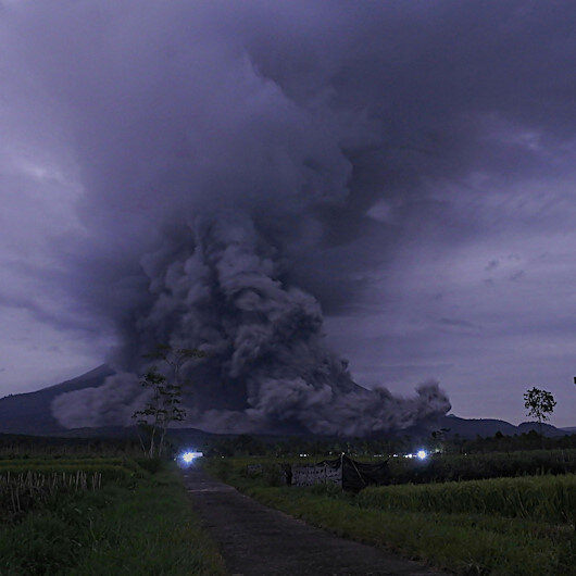 Over 4,600 residents evacuated over volcano erupt in Indonesia