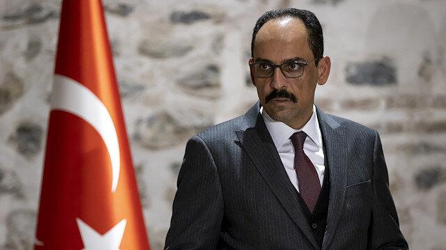 Presidential Spokesman İbrahim Kalin