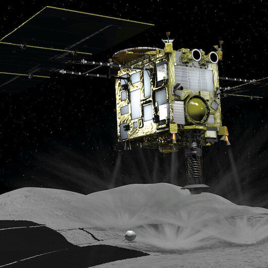Japan gets asteroid samples to study solar system