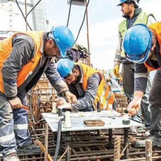 İstihdamı eylülde inşaat arttırdı