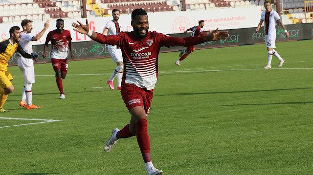 Oyuna sonradan girdi, Hatayspor'u galibiyete taşıdı