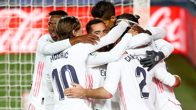 Madrid derbisini Real kazandı