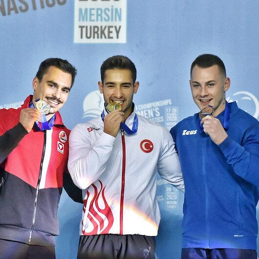 جمباز فني.. ذهبية وبرونزية لتركيا ببطولة أوروبا للرجال