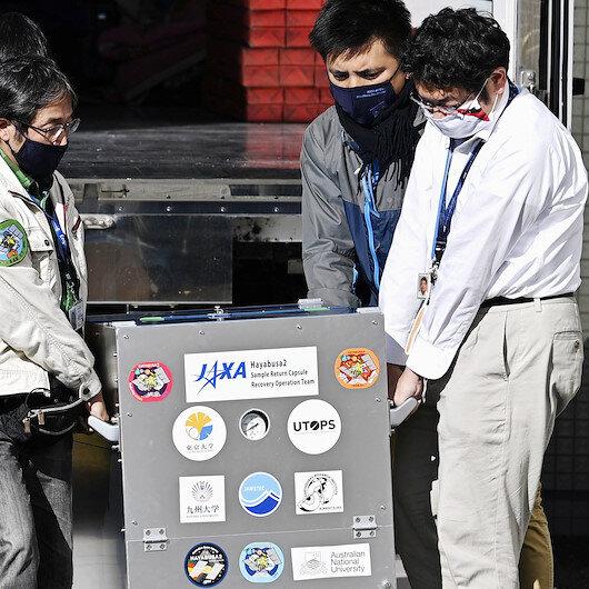 Japan brings back world's 1st deep space gaseous sample