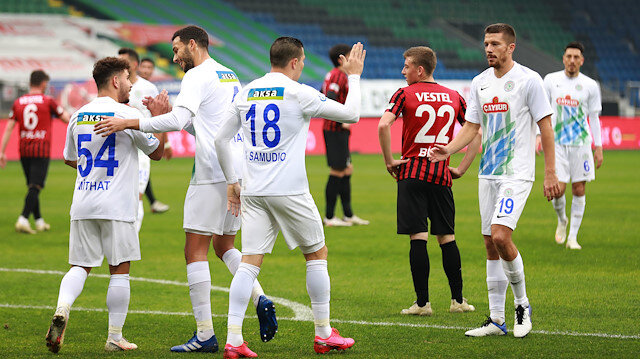 Çaykur Rizespor Türkiye Kupası'nda bir üst tura yükseldi