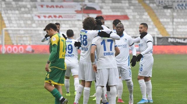 Erzurumspor kupada rahat turladı