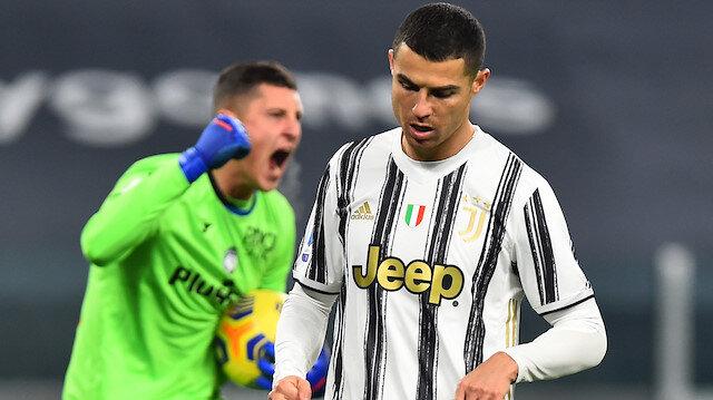 Ronaldo kaçırdı, Juventus takıldı (ÖZET)