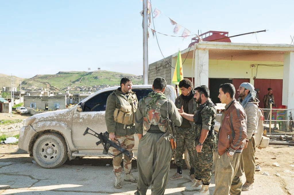 Sincar'daki PKK varlığı bölge güvenliğini tehdit ediyor.