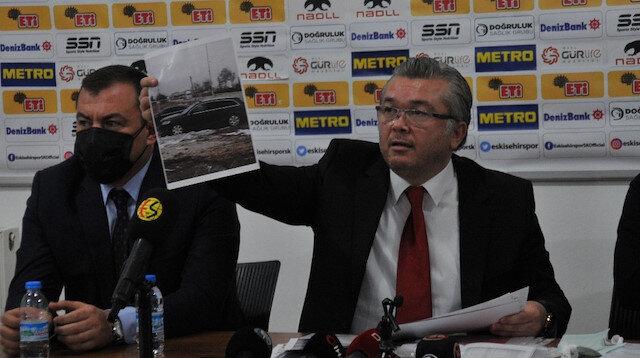 Eskişehirspor Başkanı'ndan çarpıcı açıklamalar: Kulübün araçlarını hurdalıktan topladık