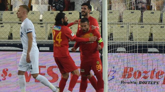 Adem Büyük Yeni Malatyaspor'u galibiyete taşıdı