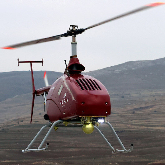 Turkish firm converts manned helicopter into UAV